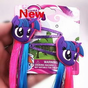 My little pony hair clip extensions 18-20 inch